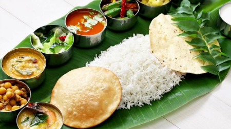 Chennai Vegetarian Food