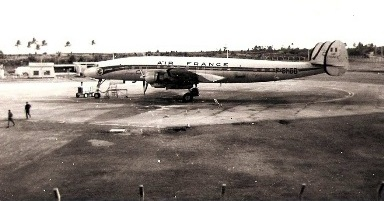 Air France at Plaisance Airport-Mauritiu