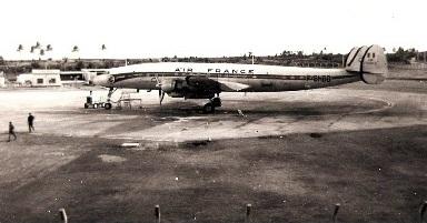 Air France at Plaisance Airport-Mauritiu