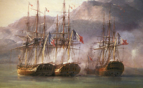 Battle of Grand Port - The French Squadron