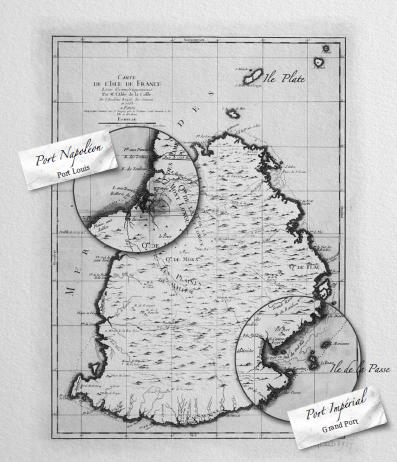 Mauritius (Isle de France) - Port Napoleon and Port Imperial