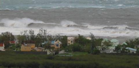 Mauritius Weather - tropical storm