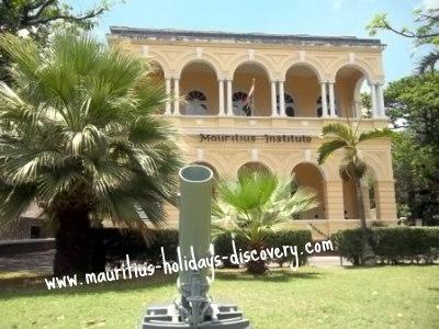 """Mauritius Institute"""" title="""