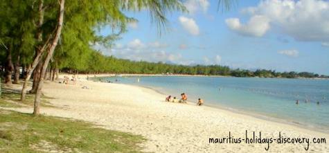 Mon Choisy Beach, Mauritius