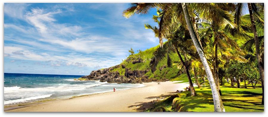 La Plage de Grande Anse, Réunion Island
