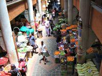 Port Louis Market In Mauritius