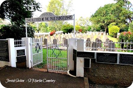 Saint Martin Jewish Cemetery, Mauritius