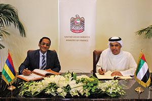 UAE, Mauritius sign investment deal