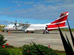 ATR 72 d'Air Mauritius à Plaine Corail