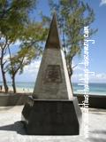 Monument at Belle Mare - Helderberg Crash
