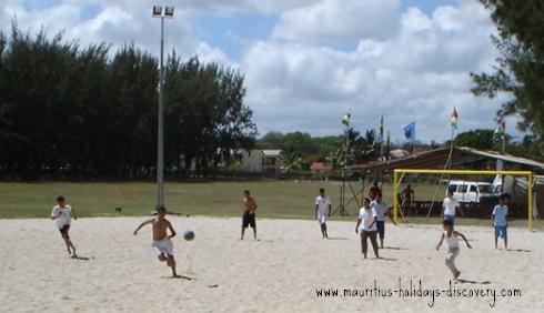 Beach Soccer At Mon