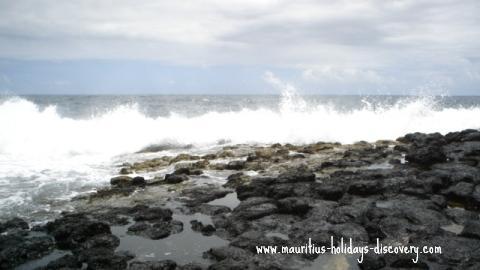 Mauritius beach Poste Lafayette