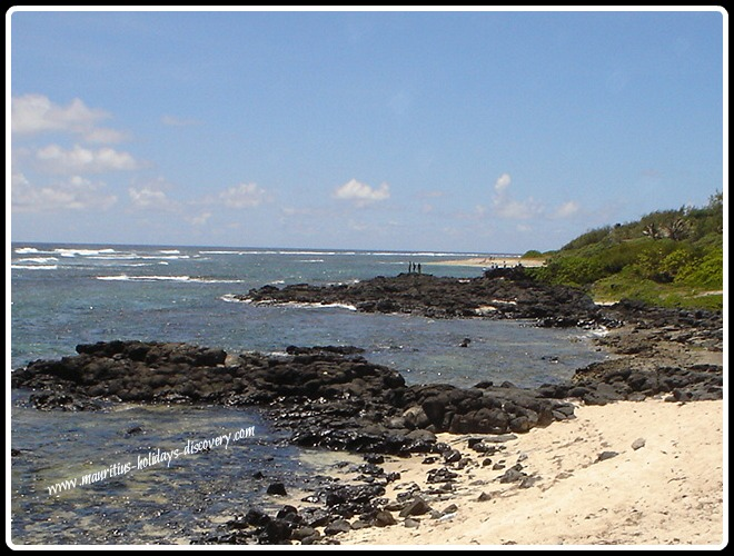 Roches Noires Beach in Mauritius