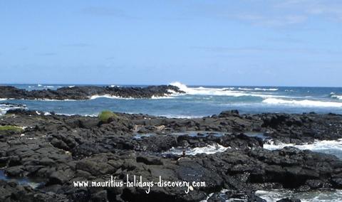 Mauritius beach Roches Noires