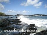 Roches Noire beach, Mauritius