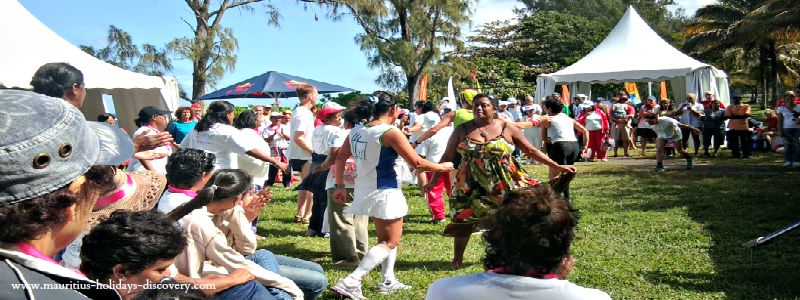Beach Partying, South Mauritius