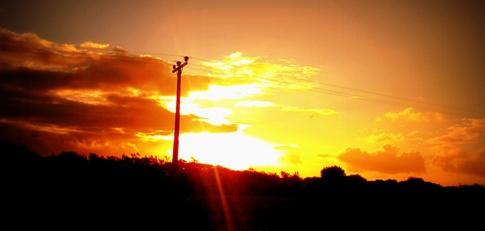 Sunrise at Belle Mare, Mauritius