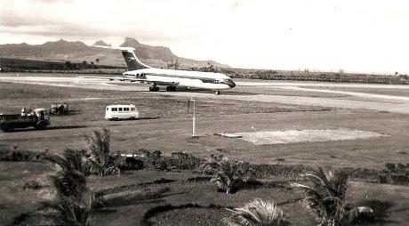 Boac_VC10 at Plaisance Airport-Mauritius