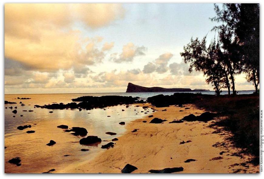 Sunset At Bain Boeuf Beach