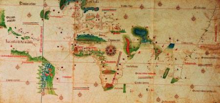 Cantino World Map