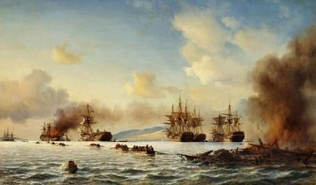 The Battle of Grand Port, Mauritius