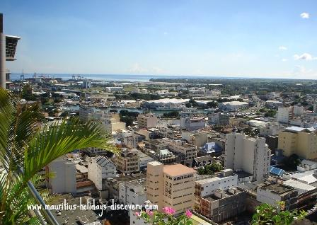 Modern Port Louis, the capital of Mauritius