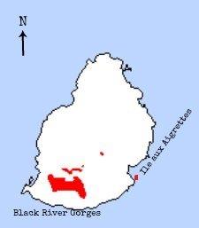 mauritius olive white-eye map