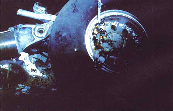 Wreckage of Helderberg – ZS SAS